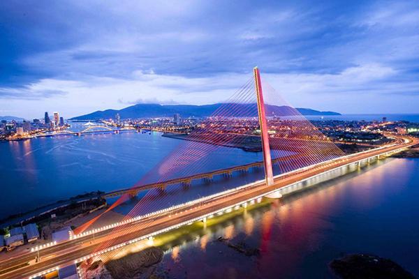 Cầu sông Hàn đẹp nhất về đêm