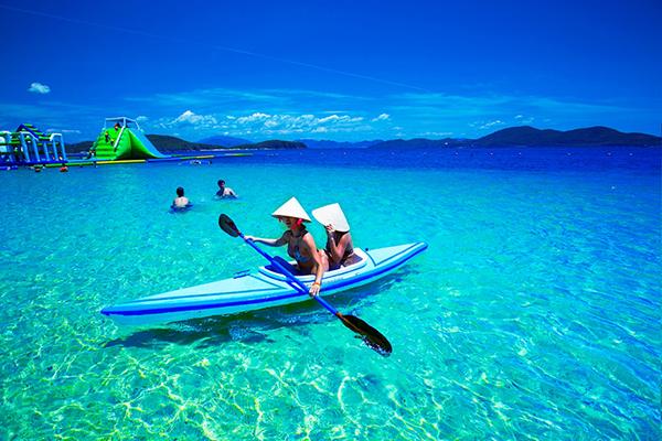 Vẻ đẹp tại đảo Hòn Tằm