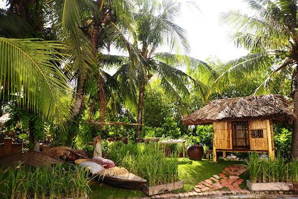 Một góc khu du lịch Một thoáng Việt Nam