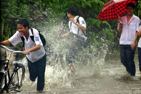 Mùa mưa Sài Gòn