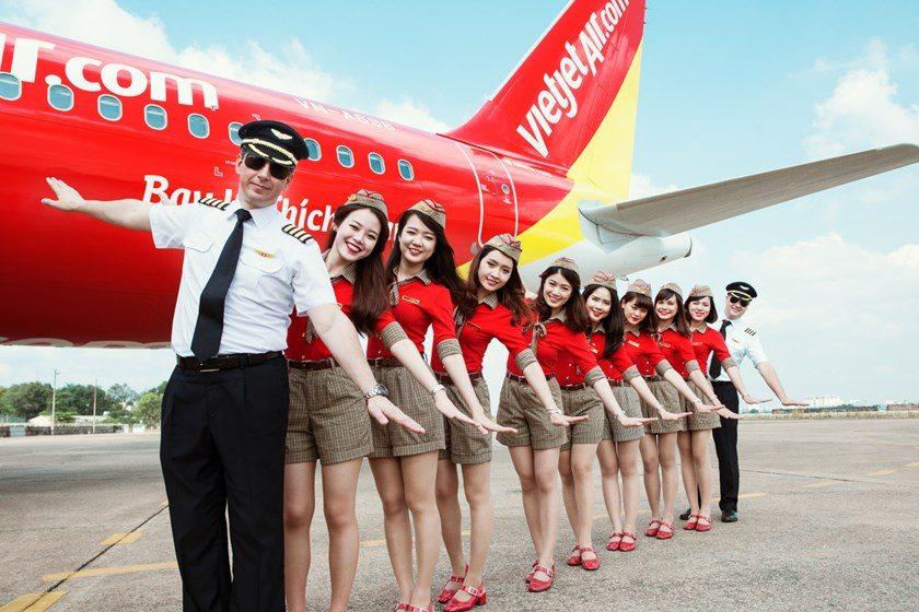 Săn vé máy bay 0đ Vietjet Air