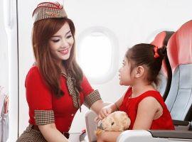 Trẻ em dưới 2 tuổi đi máy bay Vietjet và những điều cần biết